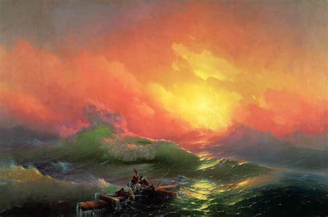 by the ninth wave ivan aivazovsky sightswithin com ivan konstantinovich aivazovsky page 2
