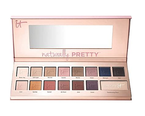 Miss Selfridge And Makeup Palettes by It Cosmetics Naturally Pretty Palette Selfridges