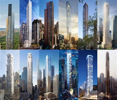 Luxury House Plans nyc s 10 tallest super slender residential skyscrapers