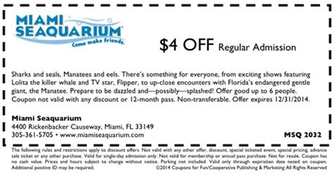 palm beach boat show coupon code coupon miami seaquarium 2018 eating out deals in glasgow