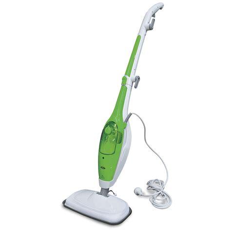 briscoes zip 2 in 1 steam mop green