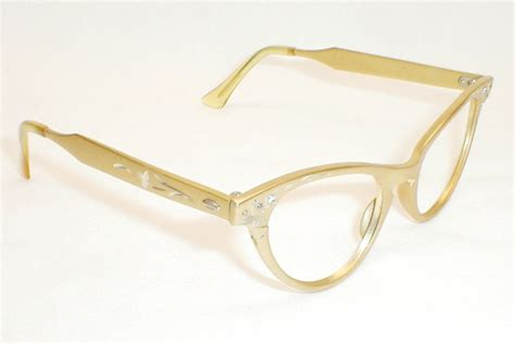 craft womens vintage 50s 60s cat eye glasses