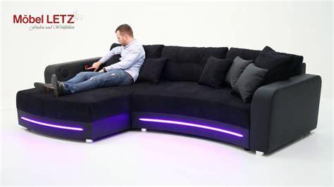 laredo jockenh 246 fer sofa mit led beleuchtung und