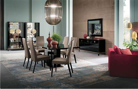 Black Gloss Dining Room Furniture Contemporary Black High Gloss Furniture Italian Furniture Stylish Modern New Em Italia