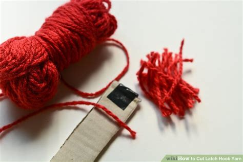 is the latch hook for yarn same as the latch hook for braids how to cut latch hook yarn 7 steps with pictures wikihow