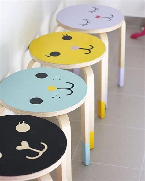 ikea stool hack easy ikea stool hacks and makeovers for the nursery mum