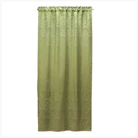 sage green curtain panels 43 quot x 84 quot sage green floral damask window curtain panel ebay