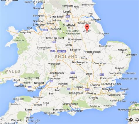 where is on the map image gallery lincoln map
