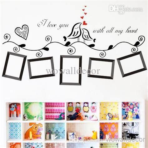 wall sticker photo frames photo frame family tree wall sticker wallpaper photoframe