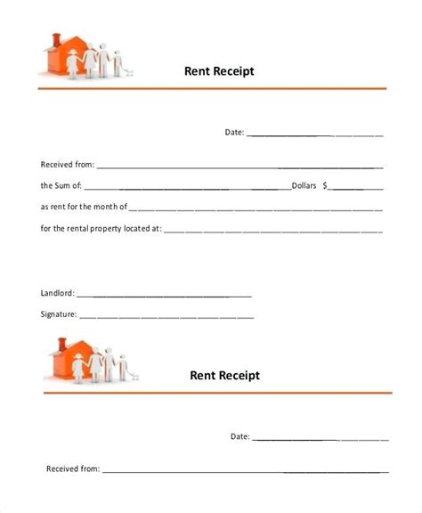 landlord receipt book template free rent receipt pdf viqoo club
