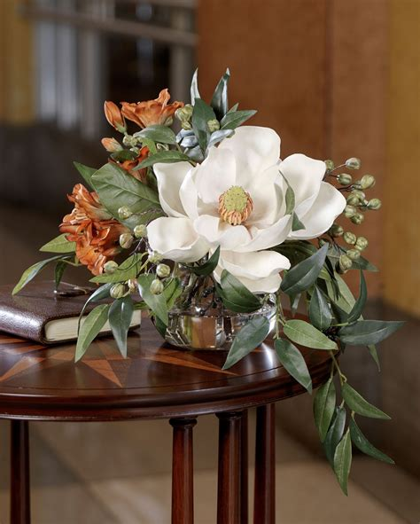 silk flower arrangements fake flower bouquets shop lovely southern charm silk flower accent for office and