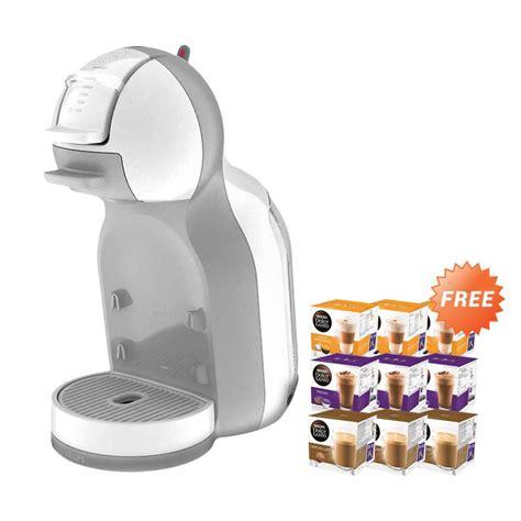 Mesin Kopi Nescafe Dolce Gusto jual nescafe dolce gusto mini me white mesin kopi 9 box