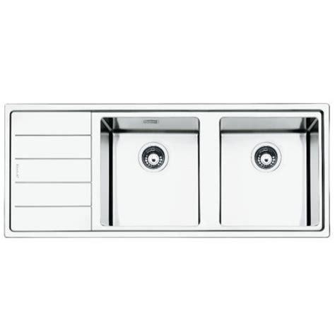 smeg kitchen sink smeg lft116s mira kitchen sink 2 bowls brushed stainless steel flus