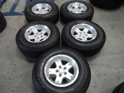 Jeep Wrangler Wheels On Grand Find 15 Quot Oem Jeep Wrangler Tj Grand Wheels W