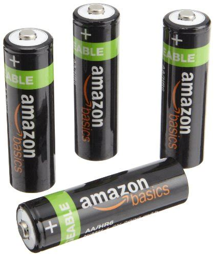 Amazonbasics Rechargeable by Discount Deals Amazonbasics Aa Nimh Precharged Rechargeable Batteries 4 Pack This Deals