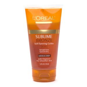 banana boat self tanner walgreens l oreal sublime bronze self tanning gel 233 e the most