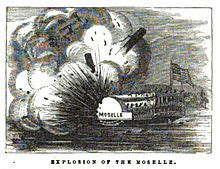 steamboat explosion moselle riverboat wikipedia