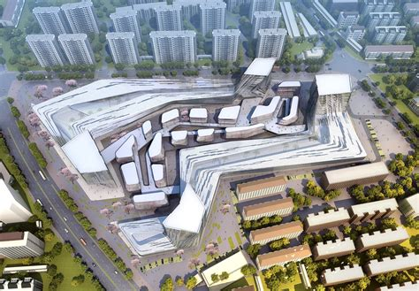 design concept urban interior architecture gallery of shanghai wuzhou international plaza winning