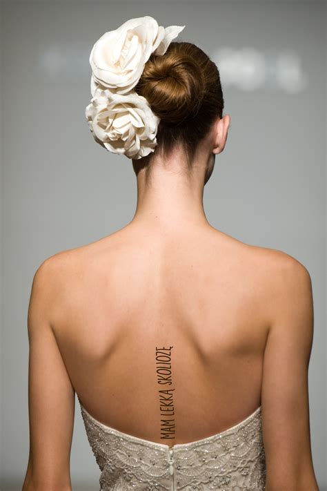 scoliosis tattoo www imgkid com the image kid has it