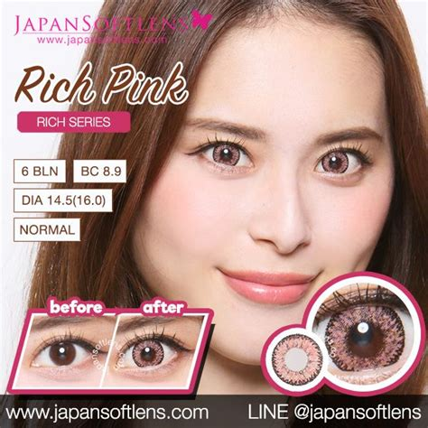 Softlens Gel Ageha Soft Lens Gel Ageha Dia 15mm Water 55 Korea Terl softlens pink ageha rich pink japan softlens