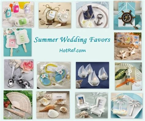 Best Summer Wedding Favor Ideas of 2014    www.HotRef.com