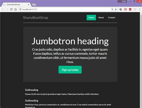bootstrap templates for asp net free download bootstrap dropdown list exle phpsourcecode net