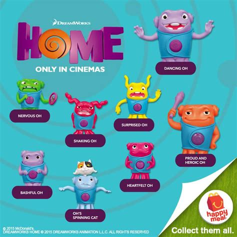 mcdonald s happy meal dreamworks home toys 2015