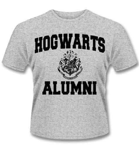 T Shirt Kaos Hogwarts Alumni harry potter t shirt hogwarts alumni somethinggeeky