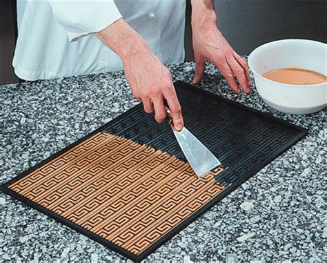 Relief Mat Baking by Demarle 3 D Silicone Non Stick Baking Mat Relief Mat 15