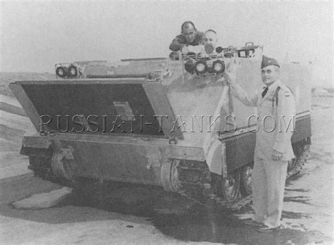 personal armored armored personnel carrier t113e2