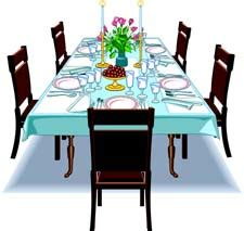 Ordinary Dining Room Cartoon #4: Dinner-table-setting-clipart-clipart-panda-free-clipart-images-QngFkE-clipart.jpg