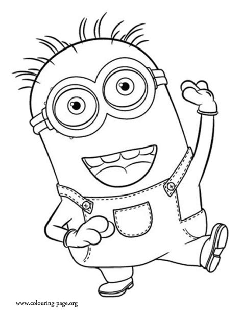 Minion Coloring Pages Print | Sewing and Crafts