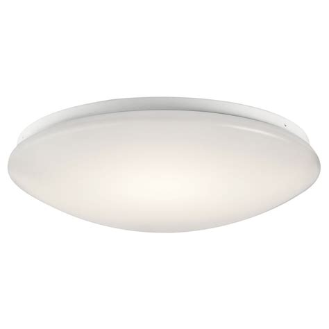 Kichler Led Lights Kichler Lighting White Led Flushmount Light 10761whled Destination Lighting