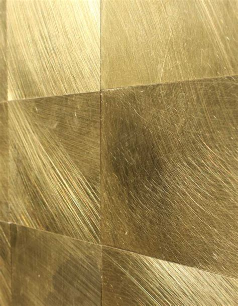 Wandpaneele Lackieren by Wandpaneele Metall Messing Gewachst Oder Lackiert
