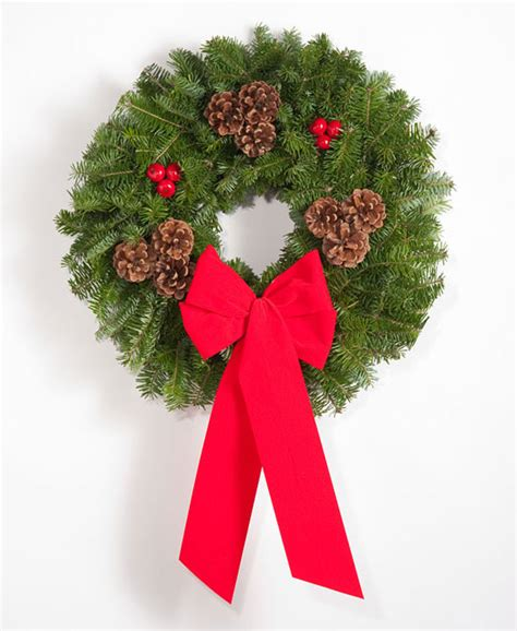 maine made christmas wreaths of balsam fir christmas