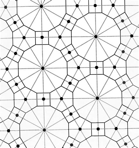 geometric tessellations coloring pages tessellations coloring pages coloring pages pinterest