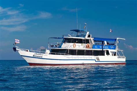 boats online genesis genesis 3 days 2 nights similan liveaboard with free nitrox