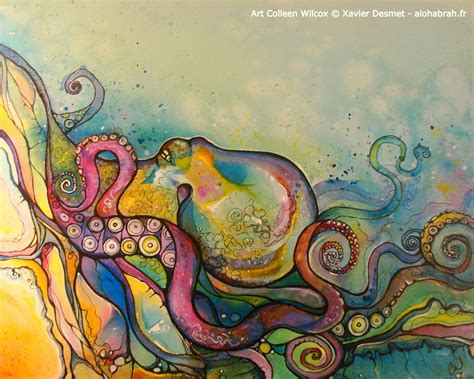 colorful octopus drawing www imgkid com the image kid