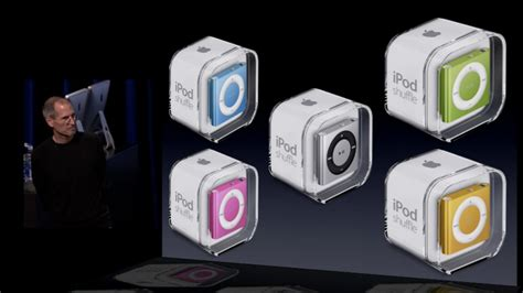 Ipod Shuffle Now In Color by Apple Releases New Ipod Shuffle Obama Pacman