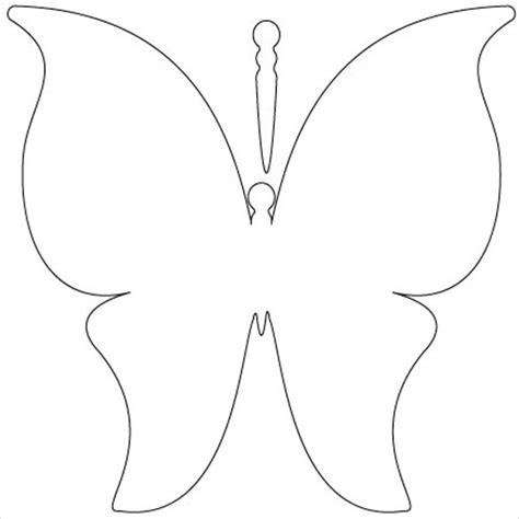 butterfly wing template 30 butterfly templates printable crafts colouring