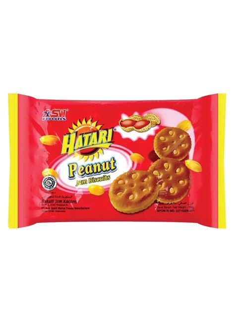 hatari jam biscuit peanut pck  klikindomaret