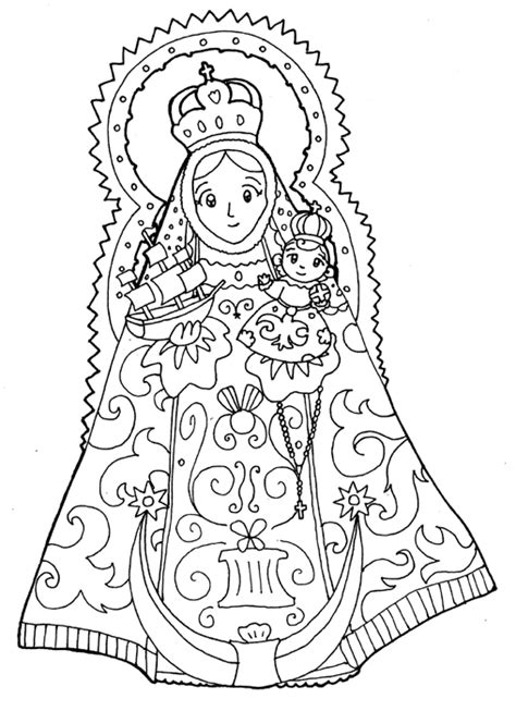our lady of guadalupe coloring page artist coloring pages