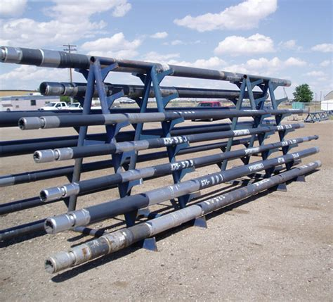 drill pipe racks images