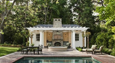 poolhouse plans pool house plans home design and style
