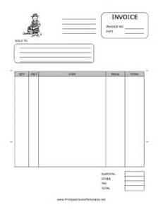 gardening invoice template gardener invoice template