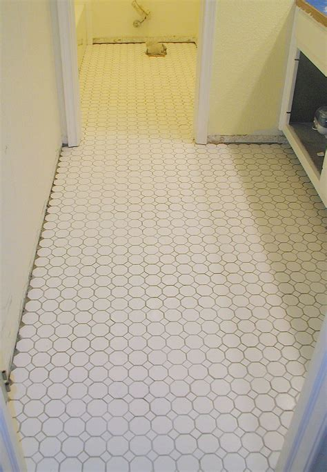 octagonal tile flooring bathroom 1000 images about tile floors on rice