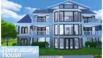 story house sims 4 three story house