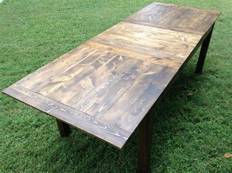 Farmhouse Dining Table With Leaf Farmhouse Table W Leaf Rustic Dining Tables Raleigh