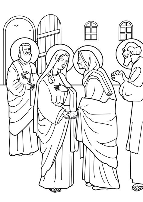 st elizabeth of hungary coloring page coloring pages