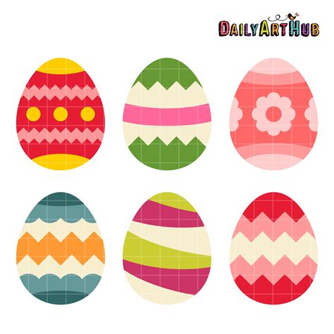 easter eggs 2017 color palette eggs clipart 8371 free clipart images clipartwork